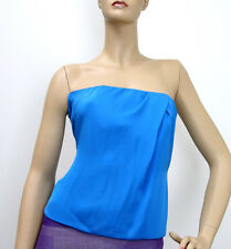 $895 NEW Authentic Gucci Runway Silk Tube Corset Sleevless Top 38, #264013