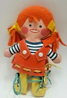 """VINTAGE 1971 REMCO TOY LOVE'N LEARN 8"""" dress-up Numbers DOLL Made In Hong Kong"""