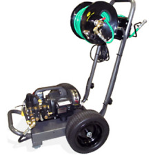 BossJet Electric Sewer Jetter 1500psi / 1.5gpm Cart Mounted with Reel