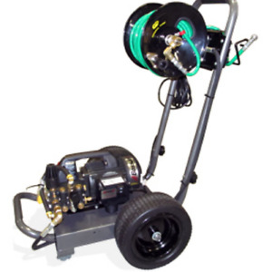 BossJet Electric Sewer Jetter 1500psi / 1.5gpm Cart Mounted/ Reel