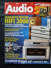 AUDIO 12/99,ACCUPHASE P 1000,ASW CANTIUS VI,DYNAUDIO AUDIENCE 79´0,QUADRAL AURUM