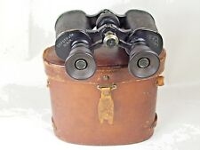 Vintage WW2 German Binoculars Field Glasses C.F. Foth & Co. Berlin, 6X NR 12400