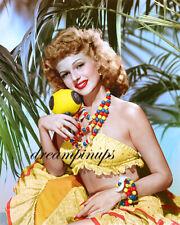 RITA HAYWORTH 1943 Hollywood Color Portrait by BOB COBURN