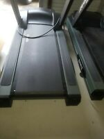 1 Life Fitness 9500HR Commercial Treadmill Computerized Monitor Flexdeck (Read)