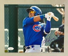 Miguel Amaya Signed 8x10 Photo Autographed JSA Sticker ONLY Chicago Cubs AUTO