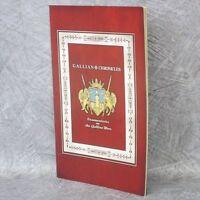 GALLIAN CHRONICLES Senjo no Valkyria Art Illustration Booklet PS3 Book Ltd