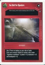 Star Wars CCG Hoth White Border Too Cold For Speeders