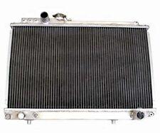 2 ROW Performance Aluminum Radiator fit for Toyota Supra 87-92 3.0L Turbo MT New