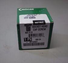 Camcar M4 X 8 SOCKET HEAD CAP SCREWS (Box 100 NEW)