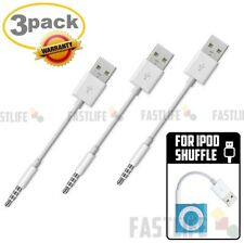 For iPod Shuffle 3rd 4th 5th Gen USB Sync Charger Cable Cord adapter - W/ warran
