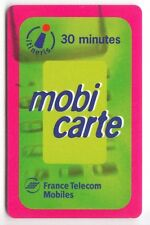 FRANCE MOBICARTE TELECARTE / PHONECARD .. PU5 30MN 12/2001+ CADRE  UT/BE C.5€
