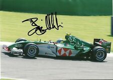 Bjorn Wirdheim 2004 F1 Test Driver Jaguar R5 F3000 campeón Foto Firmada