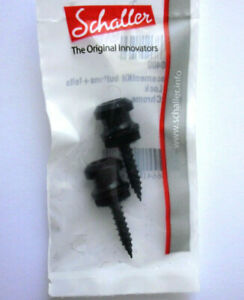 Schaller Replacement Kit buttons f. S-Locks BlackChrome