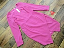 LADIES DEFINITIONS HOT PINK COLOURED DRESS SIZE 12 BNWT