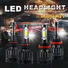 H11+9005 Combo set 54000LM CREE LED Headlight High Low Beam Light Bulb for car B