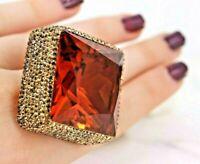 925 Sterling Silver Handmade Gemstone Turkish Alexandrite Ladies Ring Size 7-10