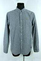 SCOTCH&SODA BNWT Grey With Color Dots Button-Up Collared Man Shirt Size 54 EU XL