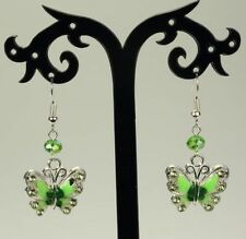 Mixed Metals Rhinestone Animals & Insects Costume Earrings