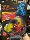 Rare 1999 Transformers Beast Wars Transmetal Red Spittor with VHS Video MOSC