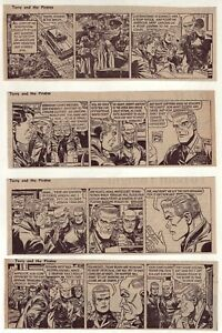 Terry and the Pirates by Wunder - 26 daily comic strips, Complete September 1969