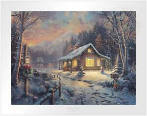 Thomas Kinkade Studios Holiday Tradition 18 x 24 S/N Limited Edition Paper