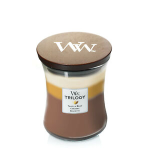 WoodWick Trilogy Medium 9.7 oz Scented Jar Candle ~ Select Your Favorite(s)