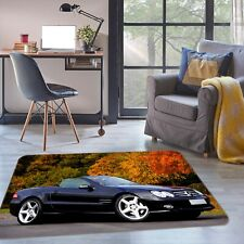 3D Mercedes-Benz NAO3471 Transport Game Rug Mat Elegant Photo Carpet Mat Fay