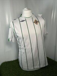 Umbro Northern ireland football away shirt uk Size 16 Women's Rare 2008/09