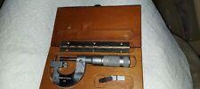 Brown Amp Sharpe Micrometer No 176 0 1 X 0001 Interchangeable Anvil Usa