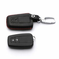 Cow Leather Remote Key Keychain Smart Key Case Cover Holder for Toyota C-HR CHR
