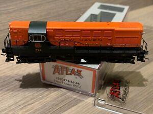 N Scale Atlas New Haven H16-44 Locomotive #52027 NH #594 Fairbanks Morse