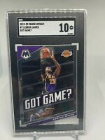 LeBron James - 2019 Panini Mosaic Got Game #7 Lakers Gem Mint SGC 10