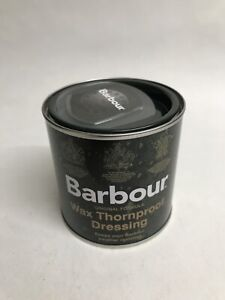 Barbour Wax Dressing Thornproof Tin 200ml For Rewaxing Jacket New FREE POSTAGE