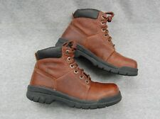 Wolverine 04339 Marquette Boots Brown Leather Lace Hiking Woman USA 8M UK6 Eur39