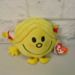 TY Little Miss / Mr Men Plush Toy - Sunshine BNWT
