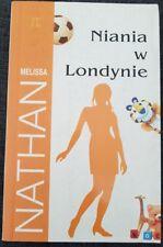 NIANIA W LONDYNIE Melissa Nathan | Paperback 2004 | Polish book | THE NANNY