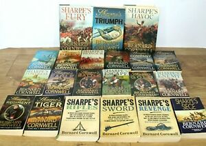 Bernard Cornwell Sharpe Books Bundle - 21 Book Collection Job Lot Set