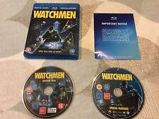 DC Comics Watchmen Blu Ray DVD Blu-Ray box set 2009, 2 Disc Set