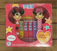 PEZ Disney Mickey & Minnie Mouse Friends Forever Candy Dispensers NEW