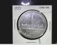 1939 Canada, one Dollar Parliment Anniv., Silver Can-708