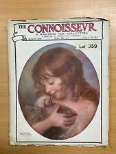 """AUG 1913 """"THE CONNOISSEUR MAGAZINE"""" #204 ANTIQUES & ART COLLECTORS MAGAZINE (P3)"""