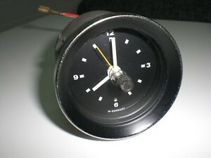 Vintage Classic Car 12V Clock W. Germany VW Porsche BMW ? Kienzle VDO ?