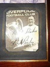 More details for bob paisley signed autograph