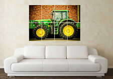 Large John Deere Tractor Agriculture Mover Trailer Wall Poster Art Picture Print
