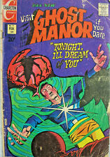 Ghost Manor Vol 2 #9 Charlton Comic Bronze Age 1973 GD+ Horror
