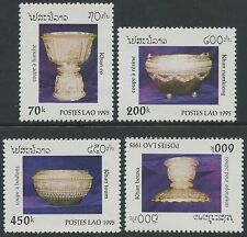 LAOS N°1178/1181** Coupes Lao 1995, Antiques containers Sc#1217-1220 MNH