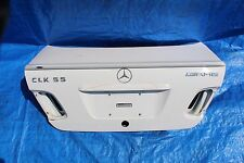 1999 MERCEDES CLK430 AMG W208 #6 REAR TRUNK DECK LID SHELL OEM - WHITE