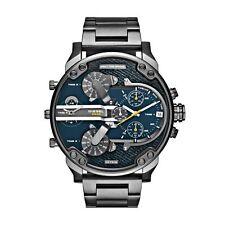 DIESEL DZ7331 Mr Daddy 2.0 Reloj Hombre Chronograph Acero inoxidable Gray Quartz