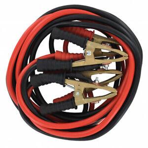 CABLES DE DEMARRAGE PRO 35mm² 4.5 Mètres PINCES BRONZE 700A MAXI