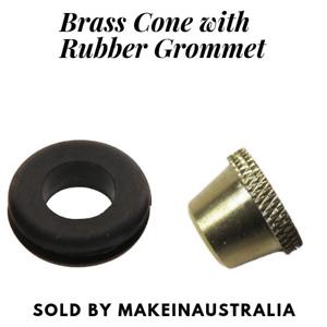 Bonza Brass Bucket Cone Piece and Grommet for Bongs